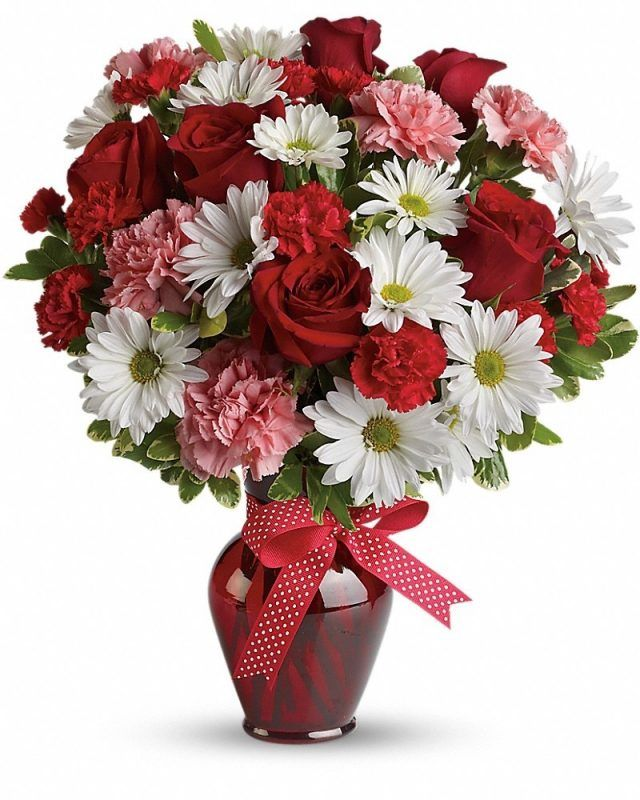 113 best valentines day flowers images on pinterest floral hugs and kisses bouquet mightylinksfo