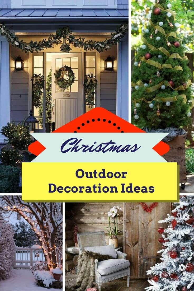 Outdoor Christmas Decoration Ideas For 2017 28