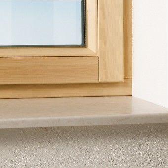 Innenfensterbänke auch Kunstmarmor Kunststein von Helopal, bei Evo Fenster online