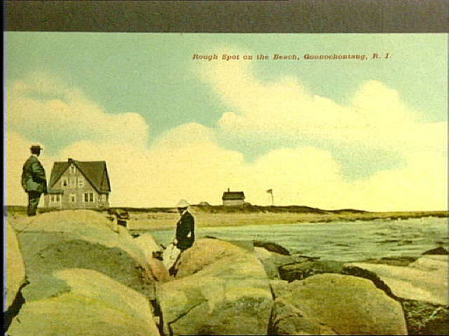 Public Beach In Charlestown Rhode Island