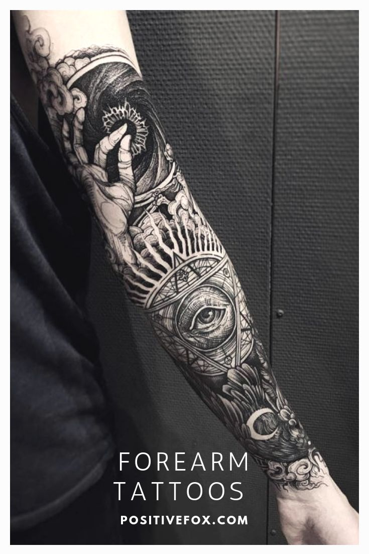 Forearm Men Tattoos #tattooo #forearmtattooo #tattooosonarm