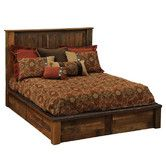 Found it at Wayfair - Fireside Lodge Barnwood Traditional Platform Bed