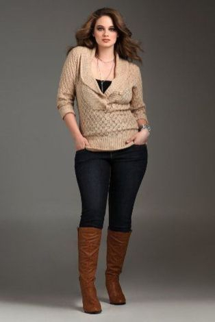 Stylish plus size outfits for winter 2017 91