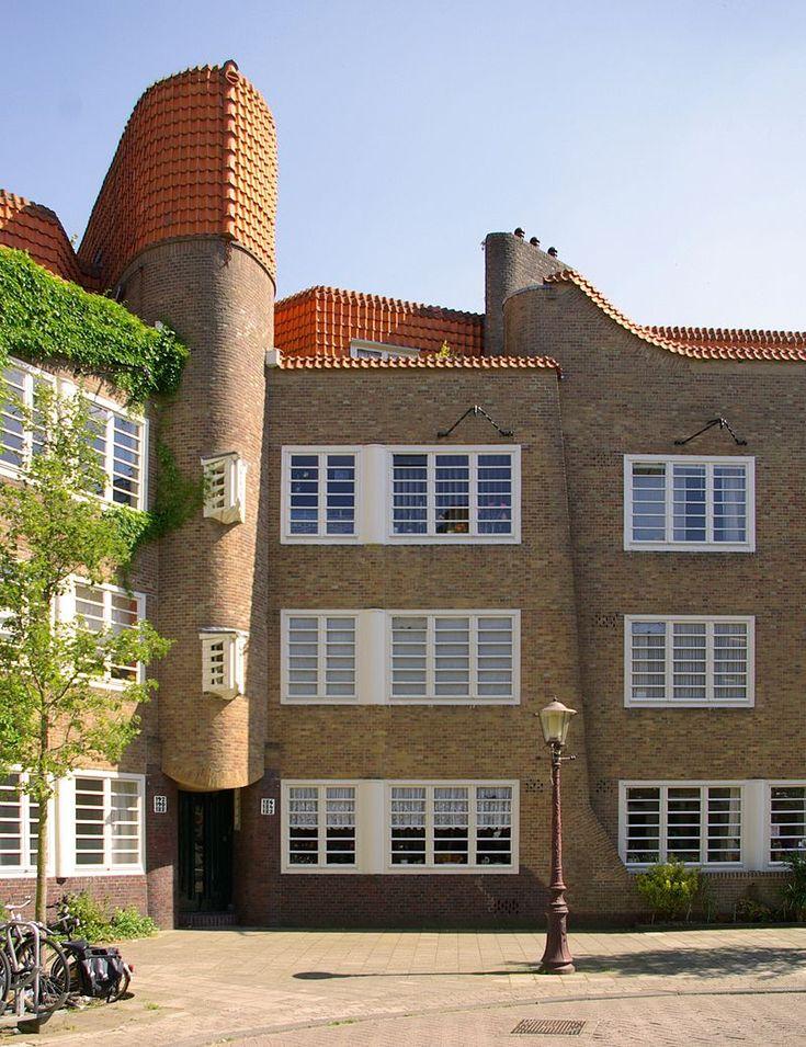 M. de Klerk en Piet Kramer, woningbouwvereniging De Dageraad, Amsterdam…