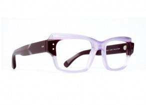 CLAIRE GOLDSMITH FRAMES.Cosby in Plum on Violet