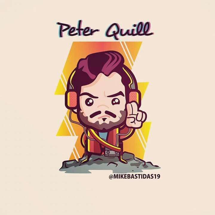 Peter Quill - Star Lord