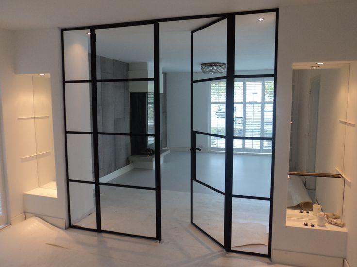 Meer dan 1000 idee n over stalen deuren op pinterest glazen deuren stalen ramen en staal - Metaal schorsing en glazen ...