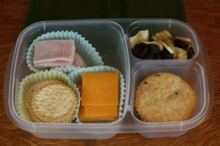 Great idea for little to go lunches... may have to start doing this for Chad since half of the time he doesn't event take a lunch break at work.