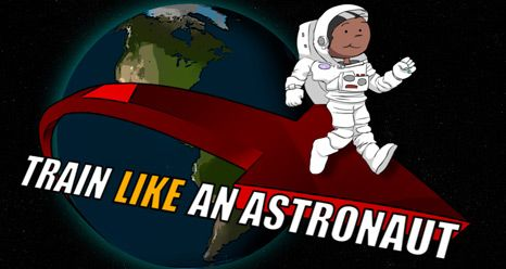 Train Like An Astronaut - for ages 8-12 challenges students to get fit and also learn how astronauts stay fit in space.