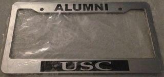 USC+University+of+Southern+California+Alumni+-+CHROME+Automotive+License+Plate+Frame+-+college, $13.99