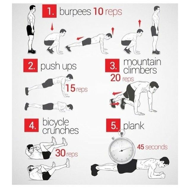 Quick morning workout routine to lose weight