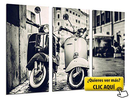 Cuadro Moderno Fotografico Motos Vespa Vintage, 97... #cuadro #moderno