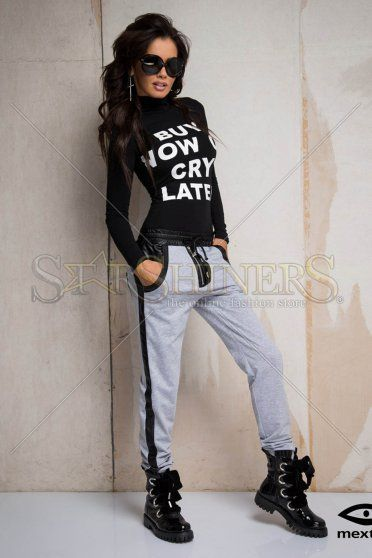 Mexton Catchy Hips Grey Trousers
