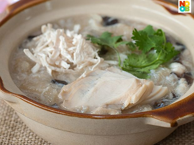 Easy recipe for chunky fish maw abalone soup tasty for Easy tasty soup recipes