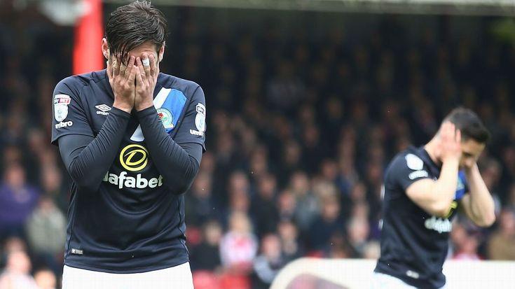 Blackburn relegated from Championship, Newcastle champions