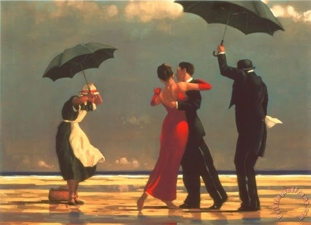 Life is art : dancing in the rain, paintings