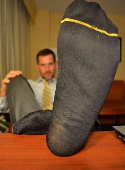 Boy socks fetish