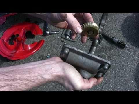 Troy-Bilt MTD Storm 2620 Snowblower Auger Gear Repair - Part 1 - YouTube