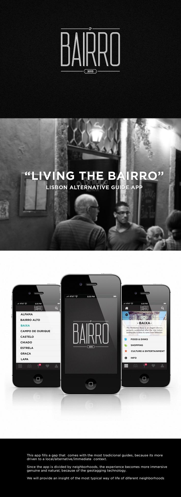 "APP "" O Bairro"" My first app"
