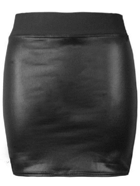 Shop Black Elastic Bodycon PU Leather Skirt online. SheIn offers Black Elastic Bodycon PU Leather Skirt & more to fit your fashionable needs.
