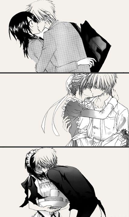I love this manga ^v^ kaichou wa maid sama