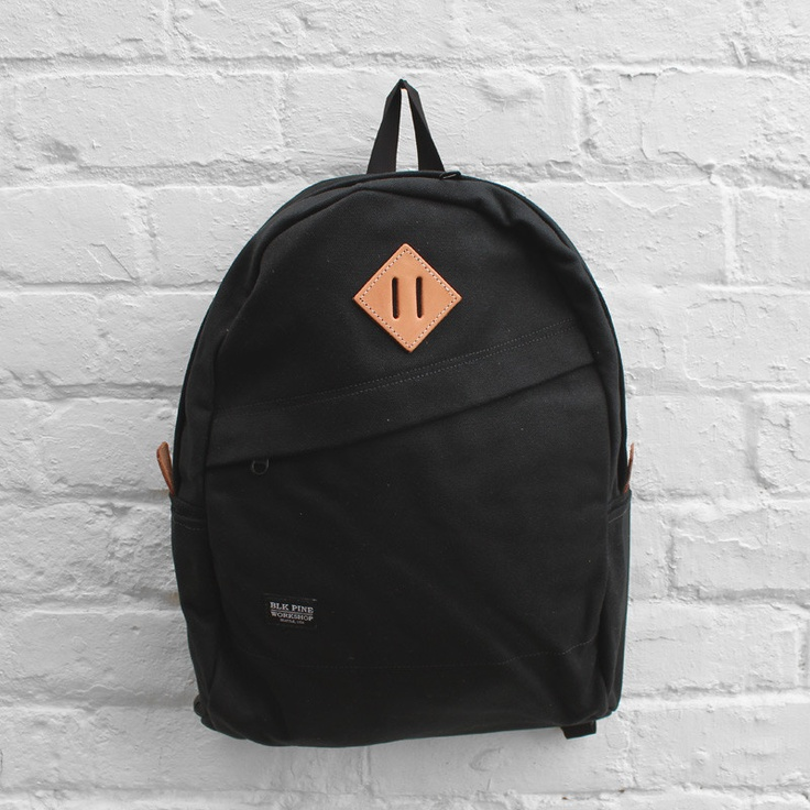 BLK Pine Workshop Slope Daypack  Tonal Black Canvas £129.99