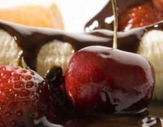 #Czekolada z #owocami