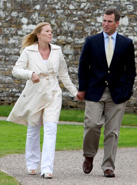 Peter Phillips and Autumn Phillips - The Royal Family Disembark The Hebridean Princess