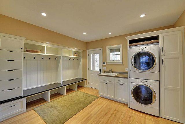Renowaze - White Laundry Room Renovation Ideas