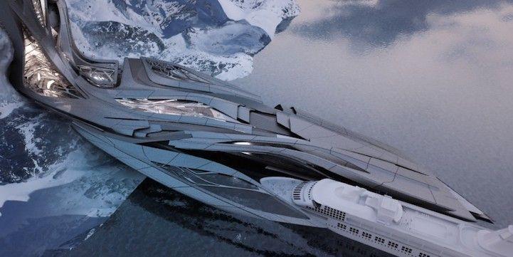 Transformable Antarctic Research Facility   Architect: Sergiu-Radu Pop