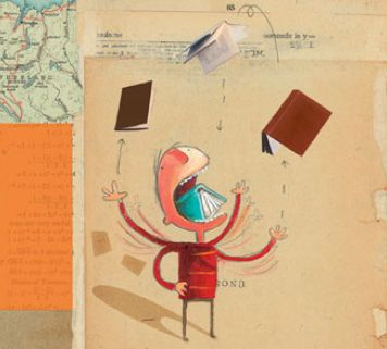 The incredible book eating boy – <3 Oliver Jeffers illustrations