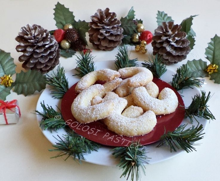 Vanillekipferl,+cornetti+alla+vaniglia