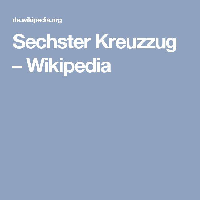 Sechster Kreuzzug – Wikipedia
