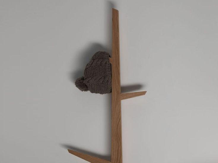 Wall-Mounted Wooden Coat rack TREE by Ex.t | design Studio 63