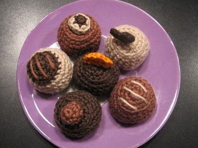 amigurumi virka godis choklad figurer gratis vikbeskrivning tips ide mönster inspiration