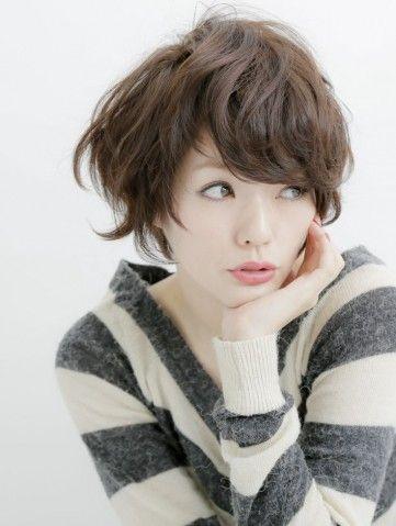 大人可愛い小顔マッシュショート☆