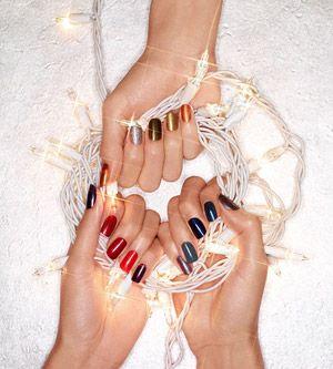 Holiday party nail colors