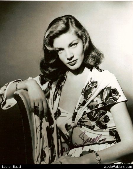 Lauren Bacall - Beautiful Classic Actresses of the 1920s 1930s 1940s 1950s