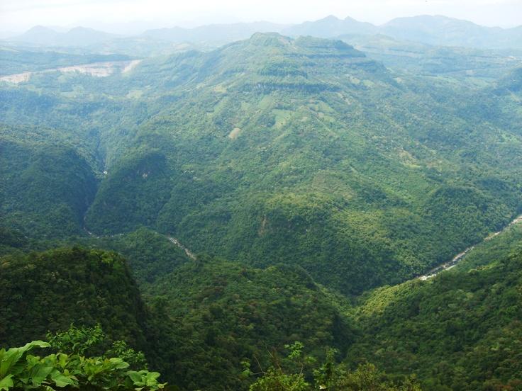 La sierra de Veracruz desde Cuetzalan