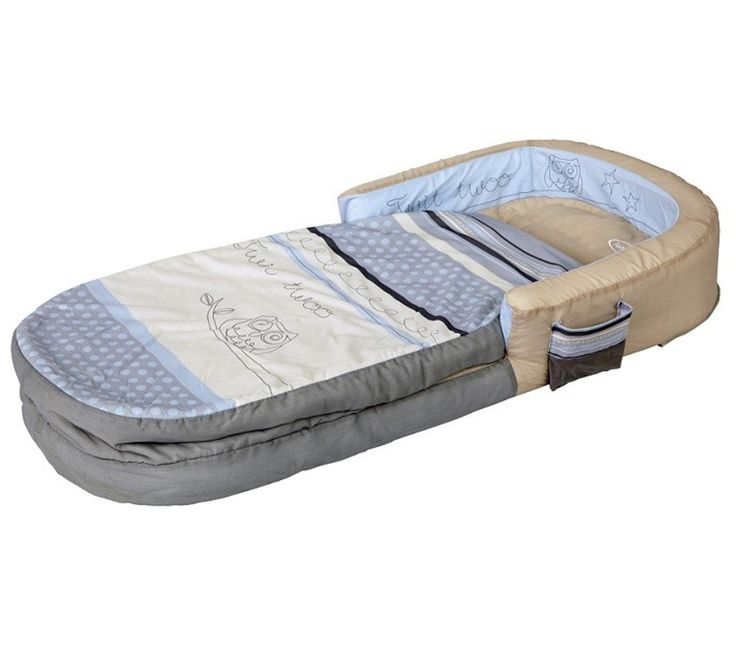 Matelas Gonflable Enfant Chouette Endormie My First 60x130