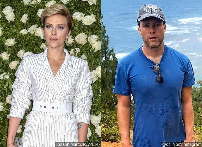 Scarlett Johansson Celebrates Her 33rd Birthday With Colin Jost in Romantic Dinner