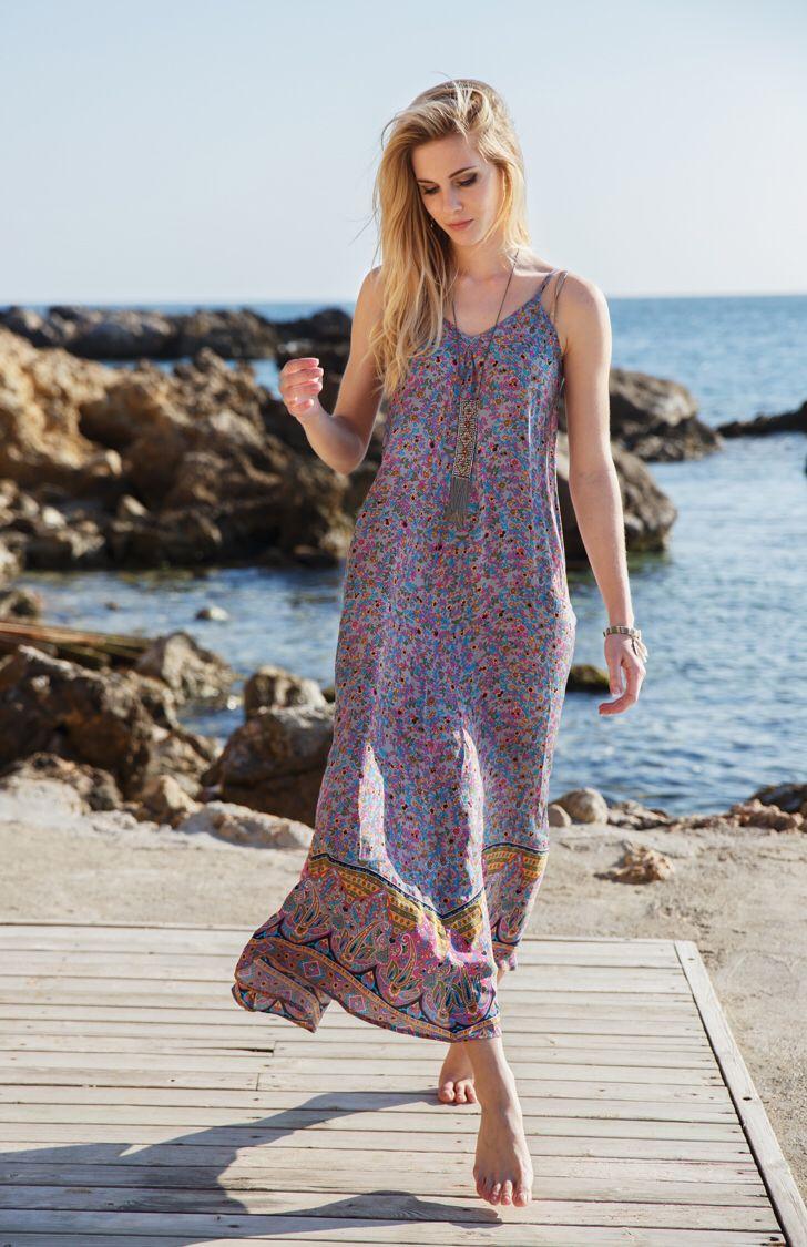 ChillNorway, New York dress, summer 15 Viscose. Fashion