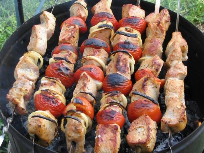 Рецепт шашлыка из свинины винный уксус