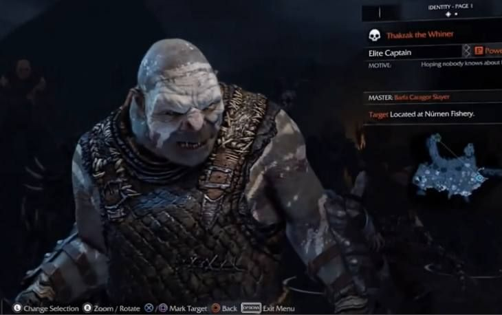 The Middle-earth: Shadow of Mordor release has been delayed slightly on Xbox 360 and PS3.