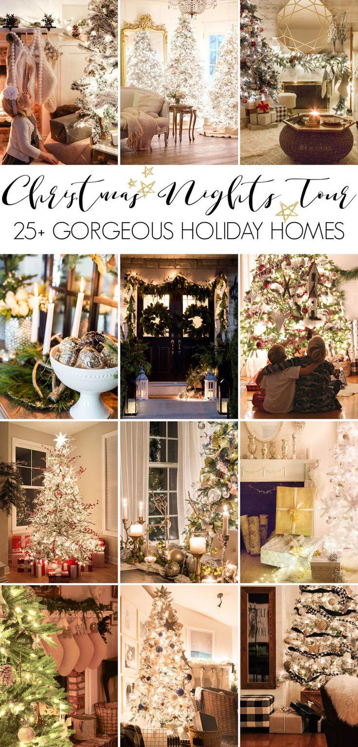 Christmas Nights Home Tour 4724 best Christmas