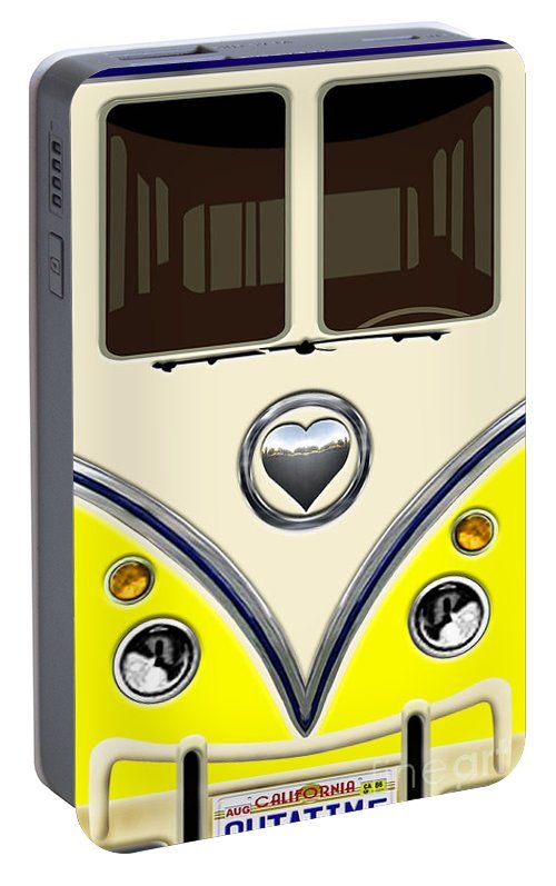 Yellow Teal Minibus Love Bug Portable Battery Charger Available for @pointsalestore #portablebatterycharger #case #vehicle #bus #minibus #toys #cartoons #train #kids #toddler #funny #cute #love #valentine #truck #automotif #car #vintage #retro #classic