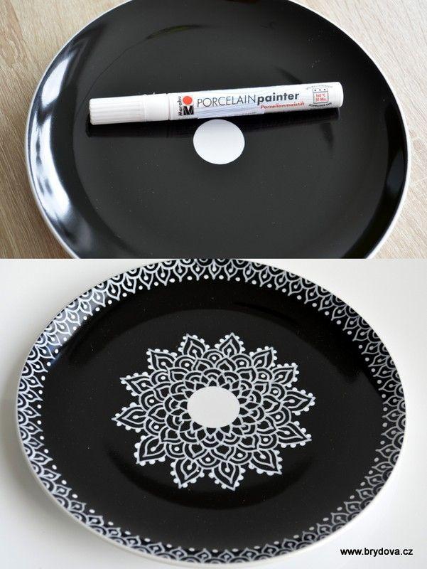 Test fixů na porcelán