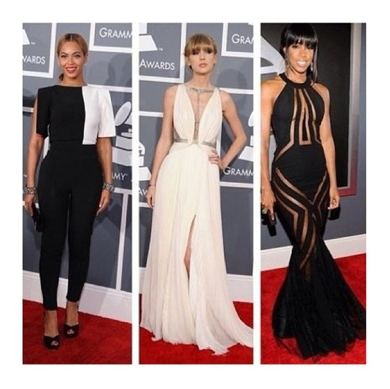 Beyonce, Taylor Swift, Kelly Rowland - Dressing for your Height.