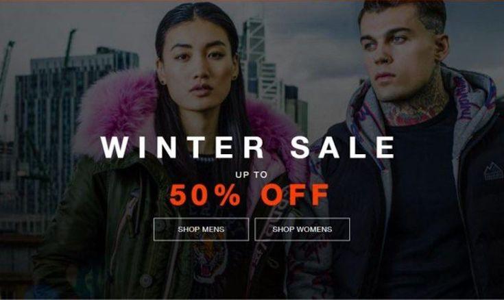 50% OFF Winter SALE at Superdry - EDEALO