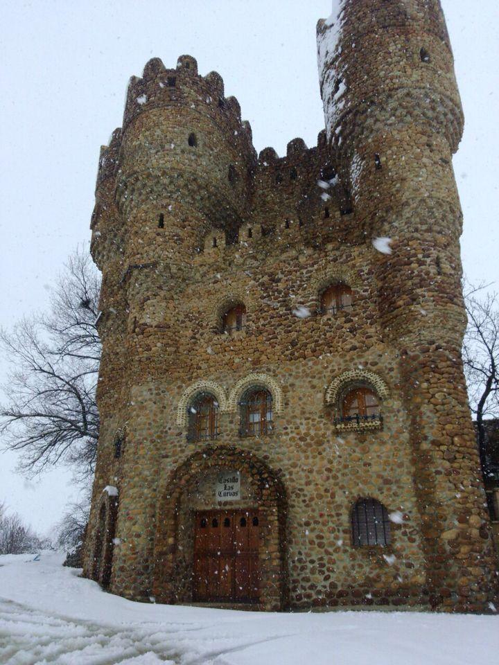 Castillo de las Cuevas nevado (Cebolleros, Burgos, Spain) 1 de Febrero del 2015